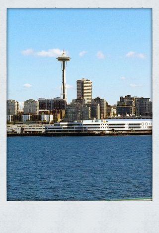 Seattle sky line