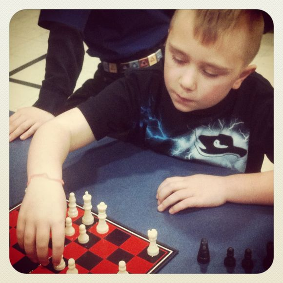 Cub scout chess