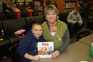 Jackson 3rd Grade Grizzlies Book Club 2013 013