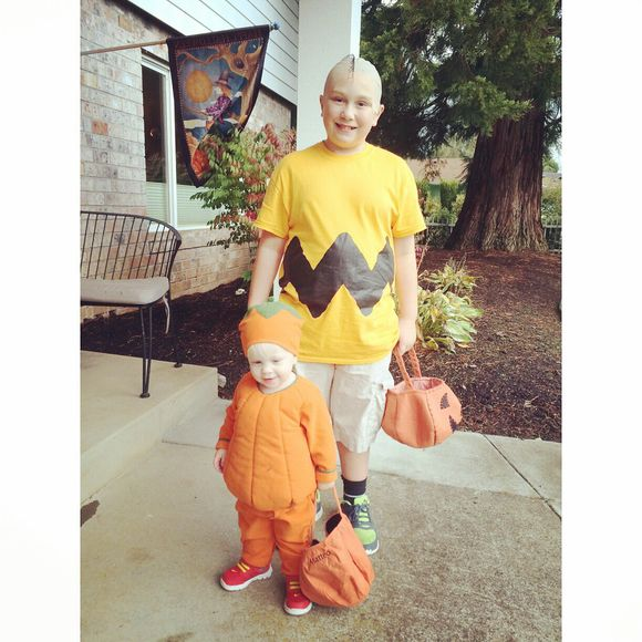 It's the great pumpkin and Charlie Brown